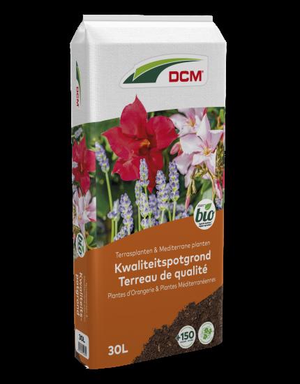 Kwaliteitspotgrond voor Terrasplanten & Mediterrane Planten