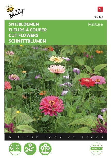 Snijbloemen vele soorten gemengd