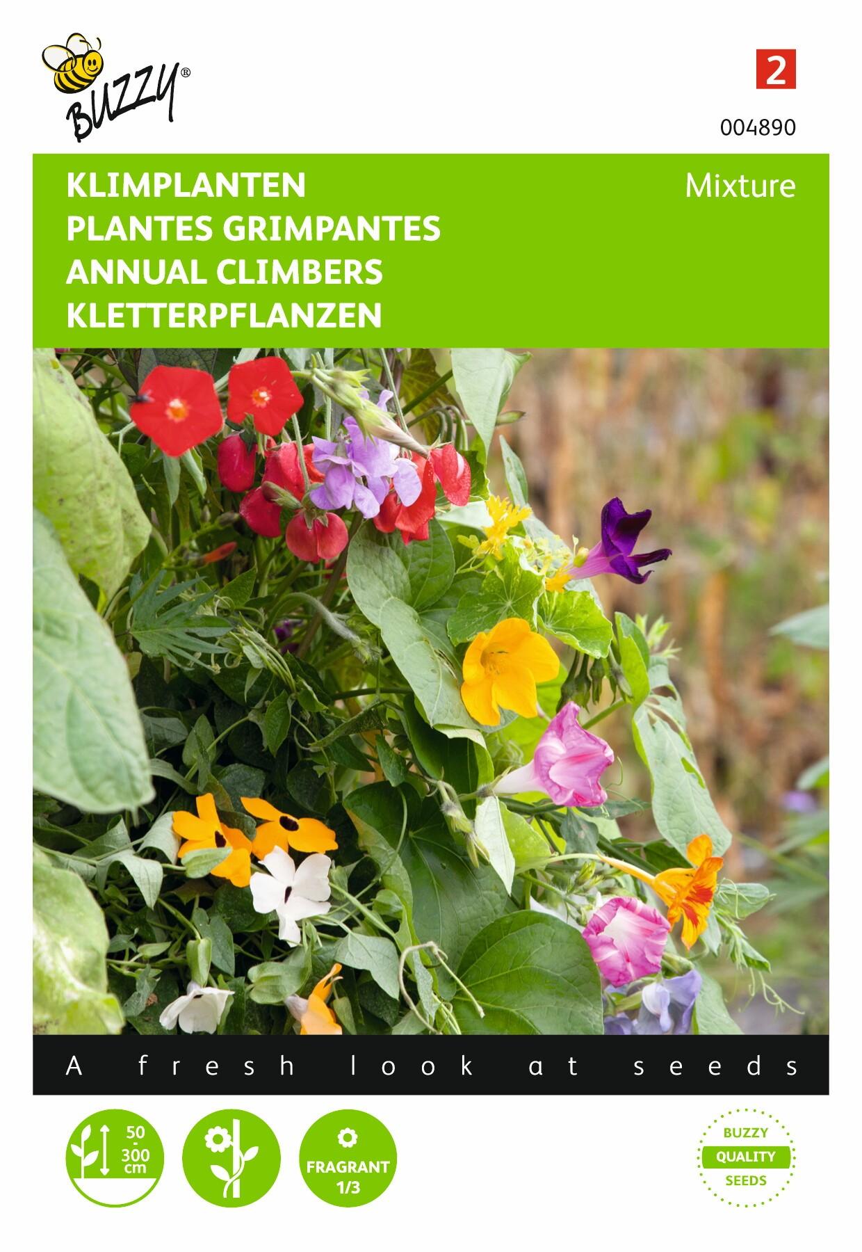 Klimplanten diverse soorten gemengd