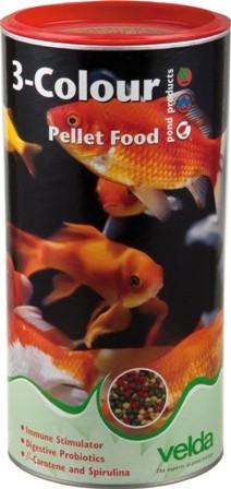 3-Colour Pellet Food