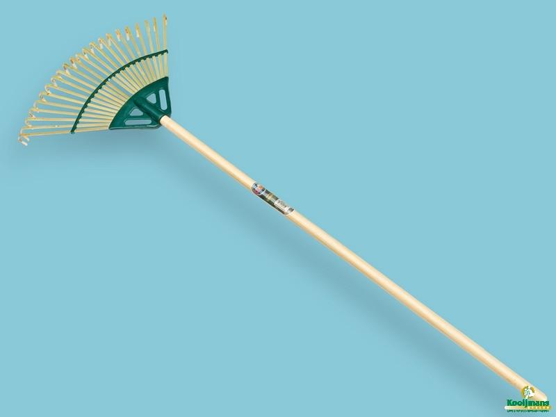 Bamboe gazonhark