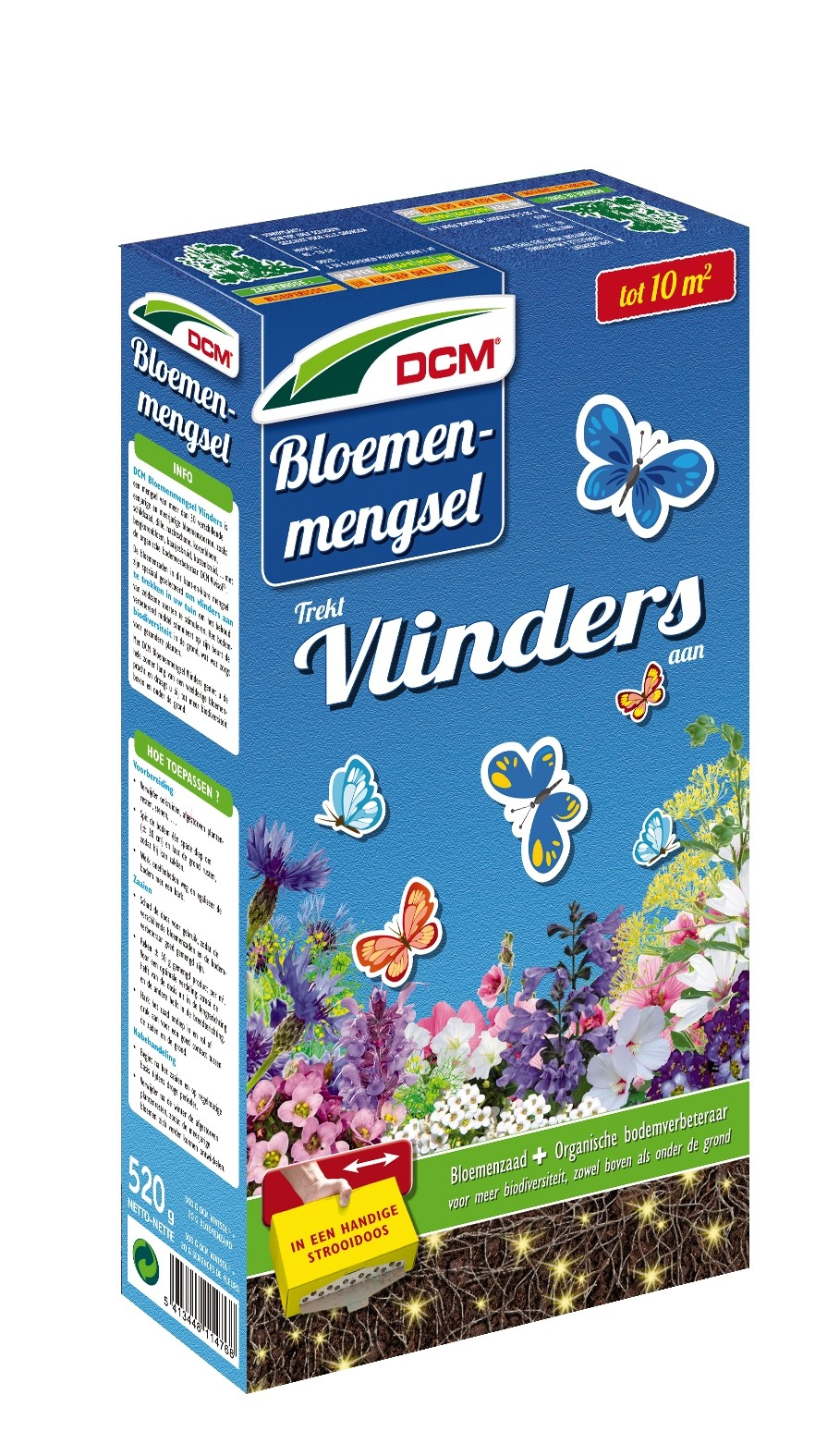 Bloemenmengsel voor vlinders