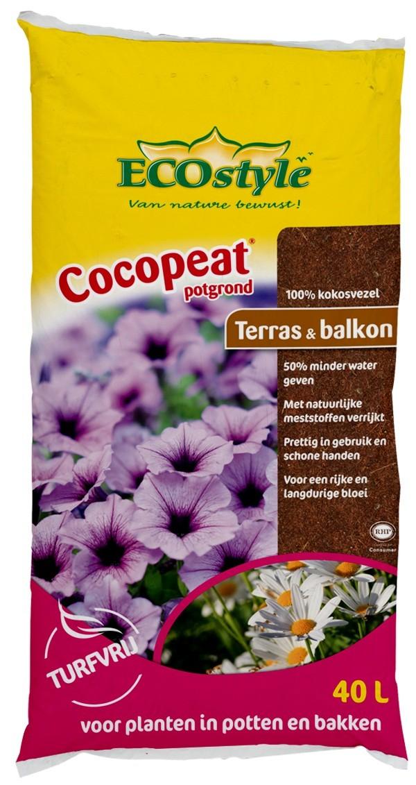 Ecostyle Cocopeat Terras & Balkon