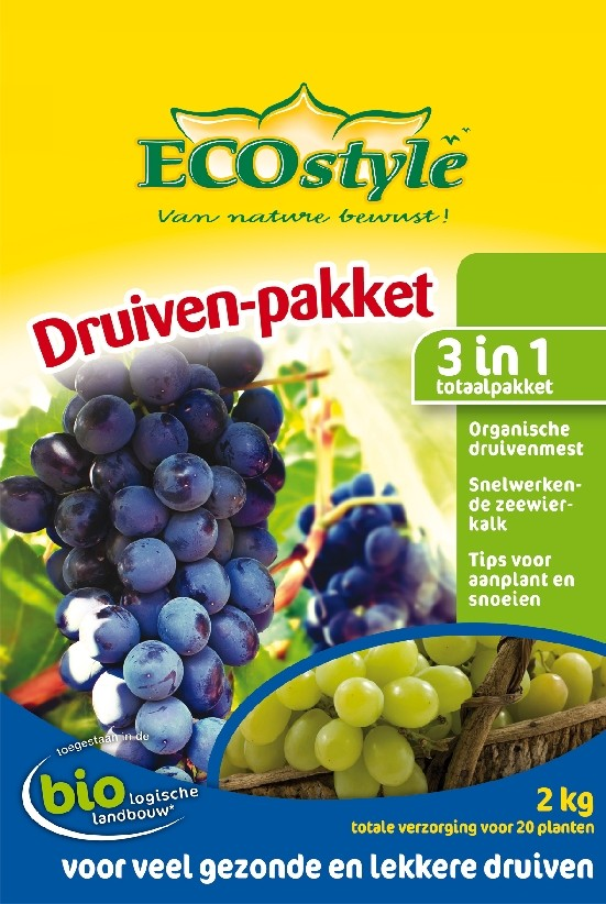 Ecostyle Druiven-pakket