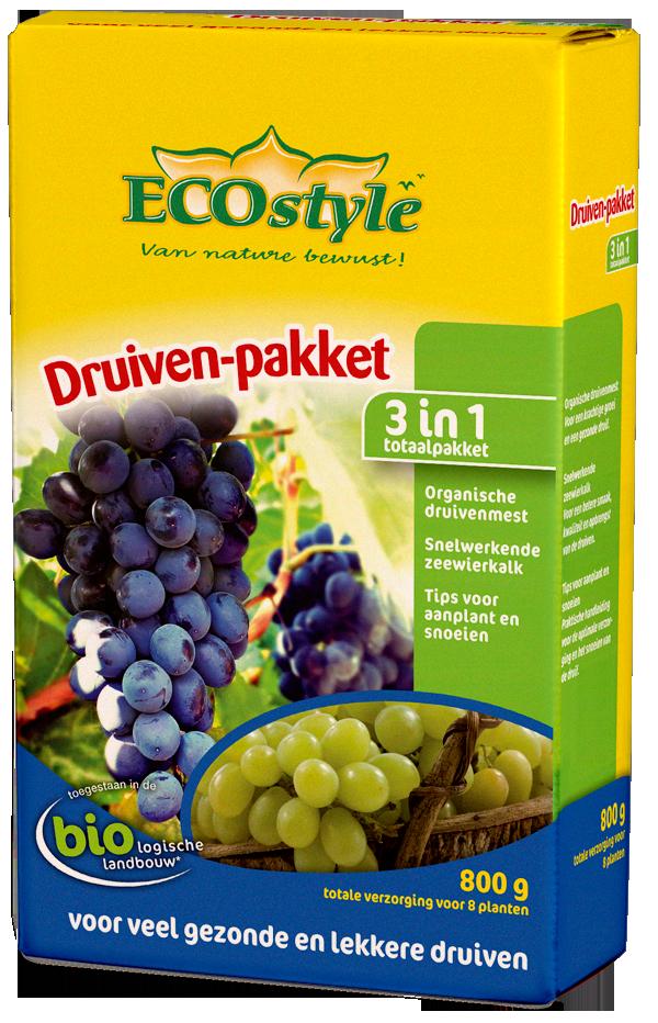 Druiven-pakket 800gr