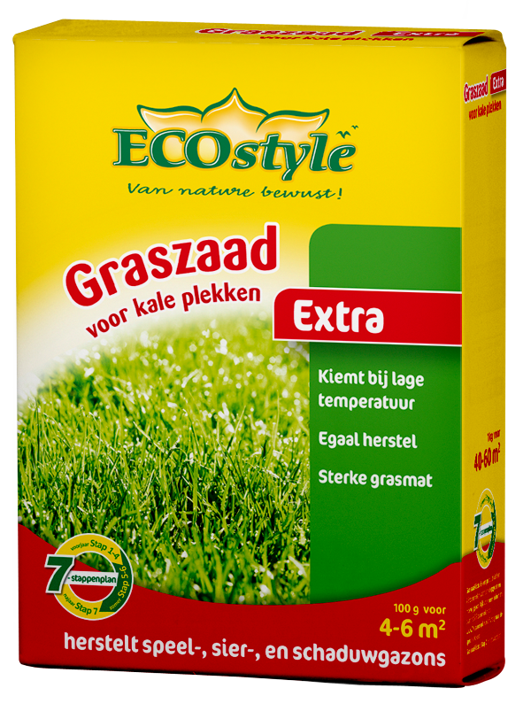 Ecostyle Graszaad Extra voor kale plekken