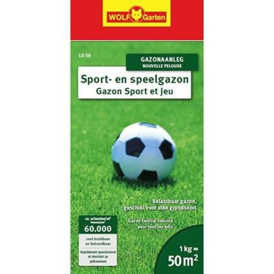 Wolf-Garten Sport- en Speelgazon LG-50 / LG-100