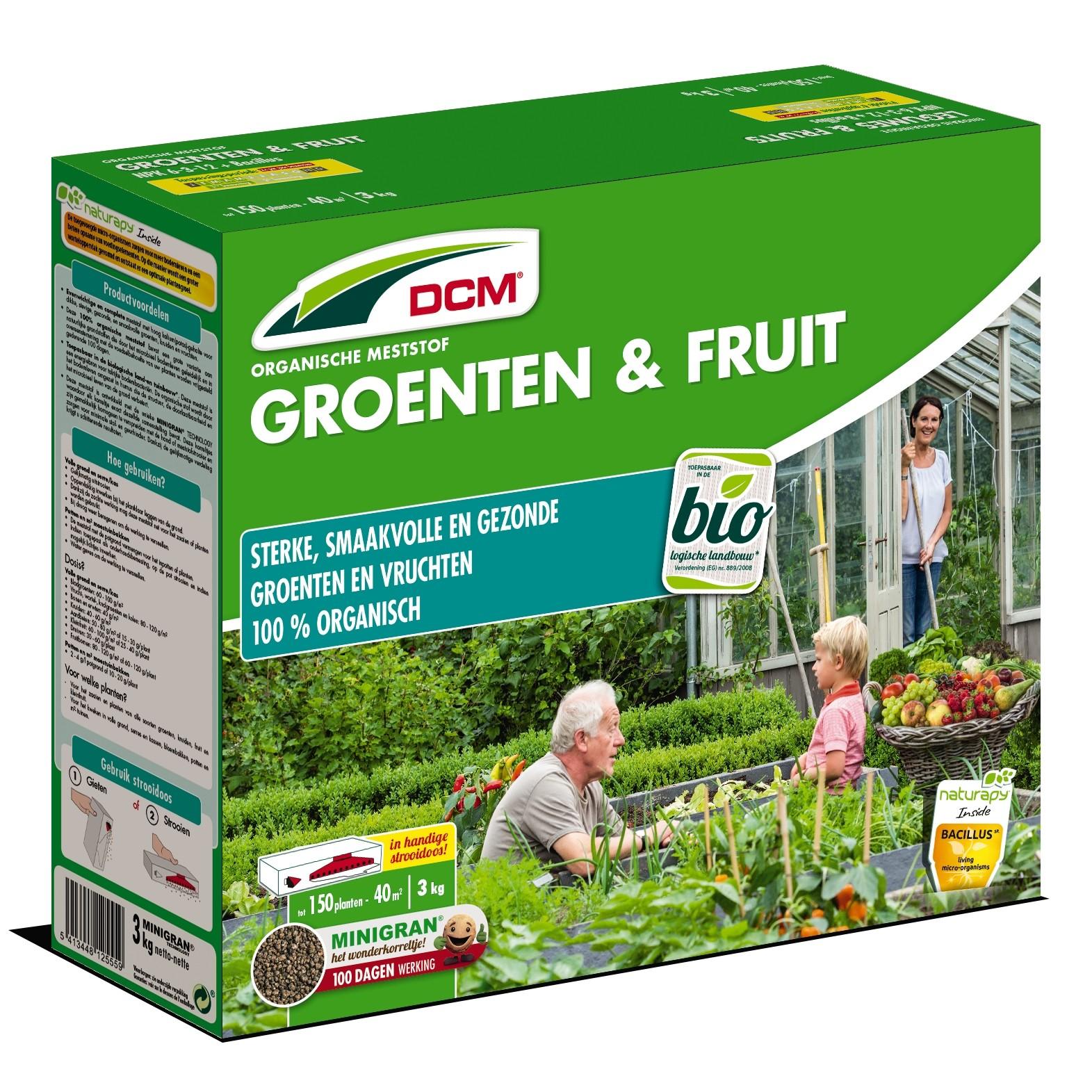 Meststof voor groenten en fruit