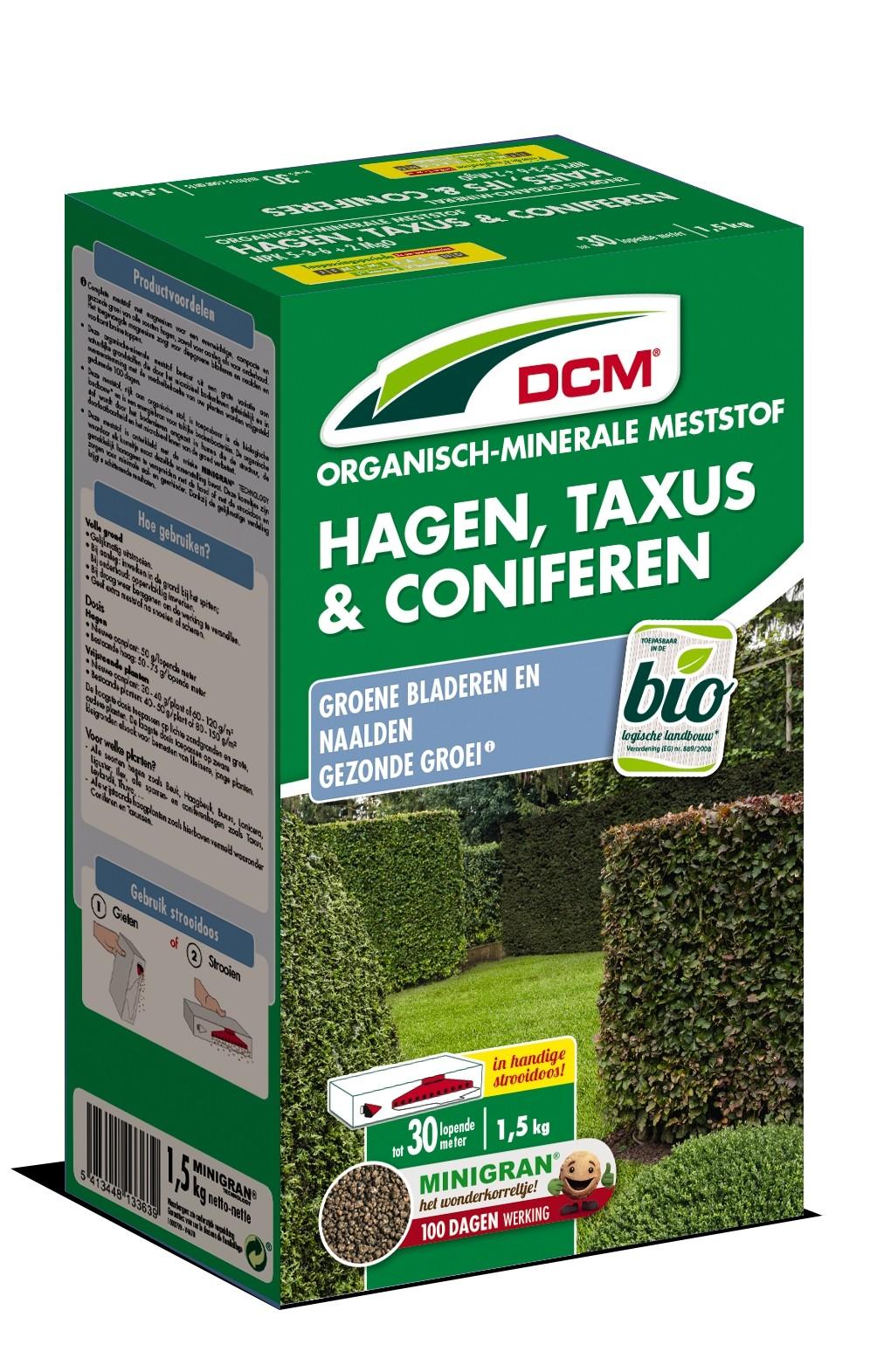 Meststof Hagen, Taxus en Coniferen