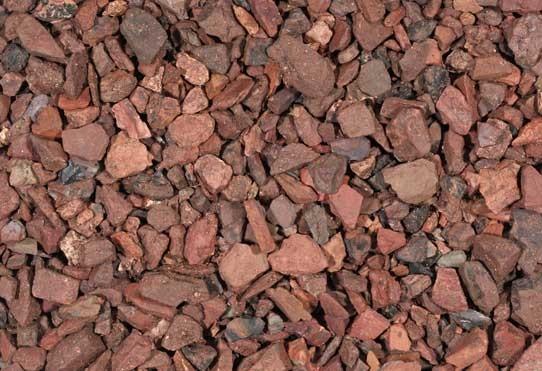 Mijnsplit Rood 6-15 mm