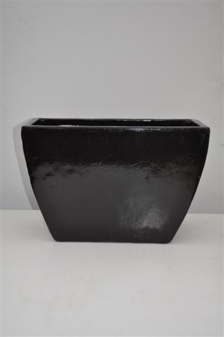 Plantenbak langwerpig black