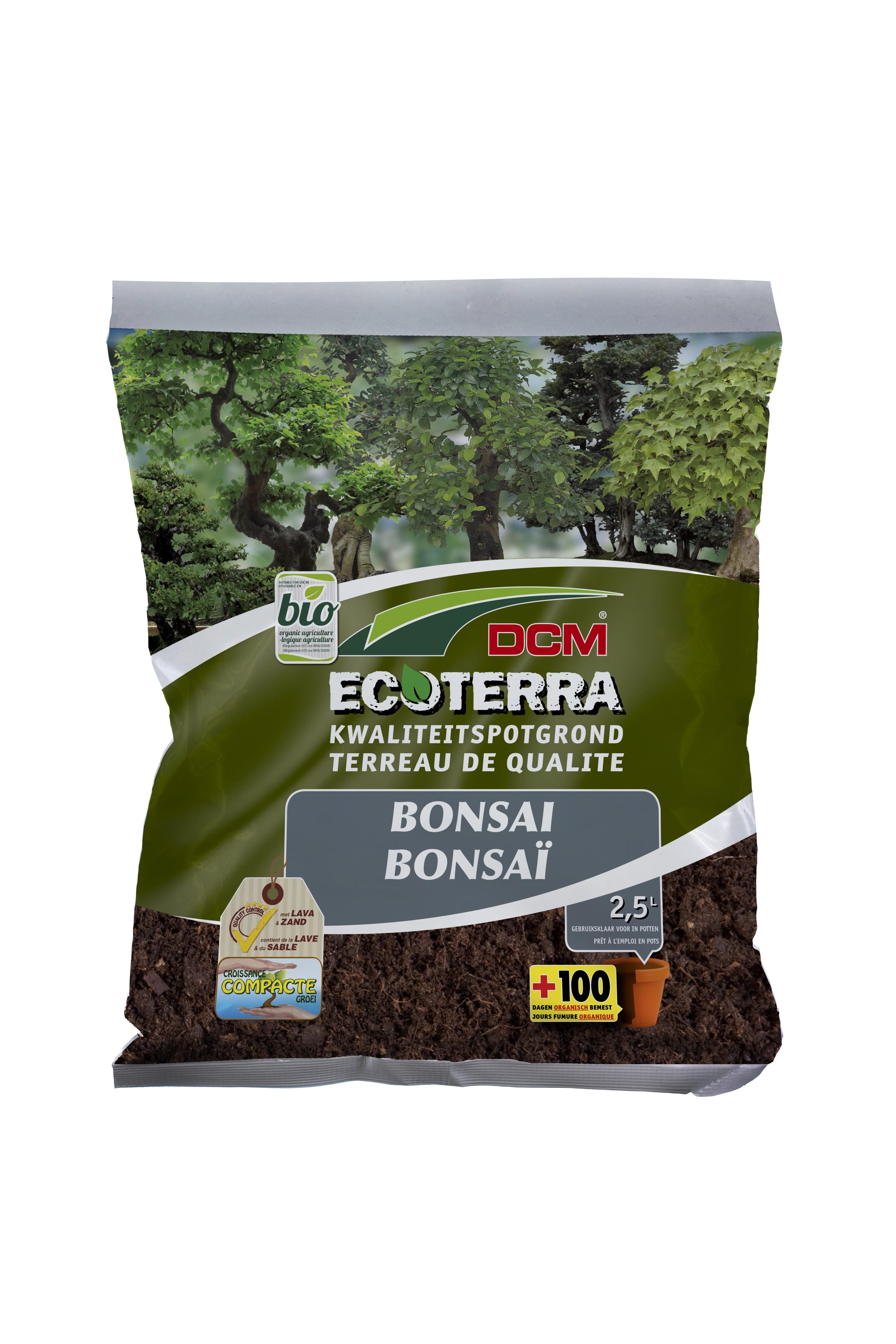Ecoterra potgrond voor Bonsai