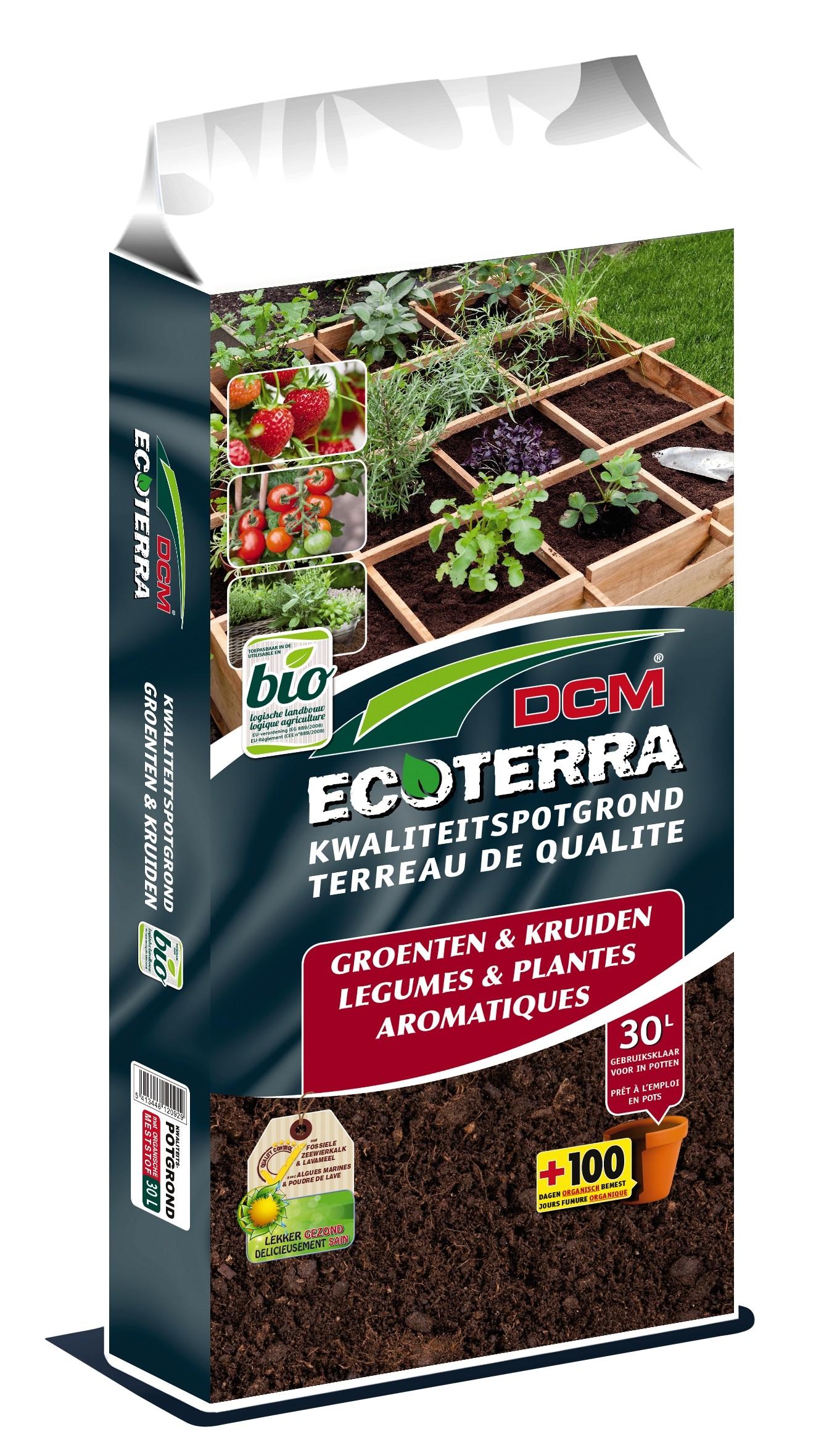 Ecoterra potgrond voor Groenten & Kruiden