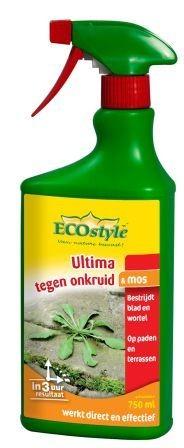 Ecostyle Ultima tegen onkruid en mos gebr.kl.
