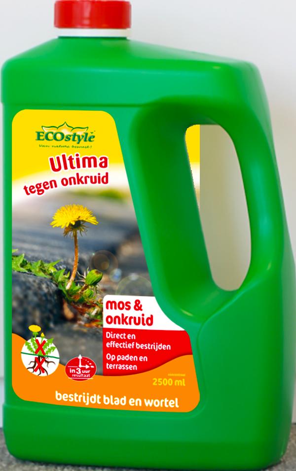 Ultima tegen Onkruid & Mos concentraat 2,5 L