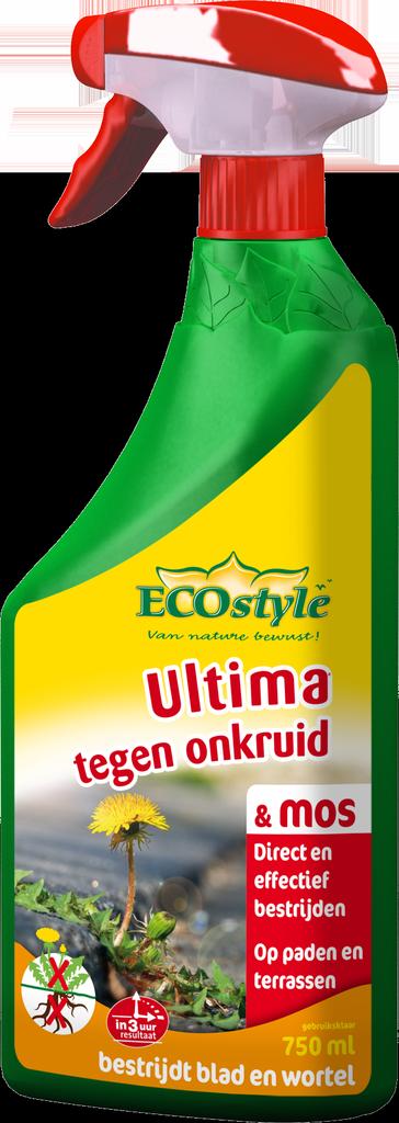 Ultima tegen onkruid & mos gebruiksklaar 750 ml