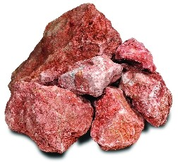 Vulkaansteen Extra rood
