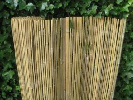 Gespleten bamboemat 'Coupé'