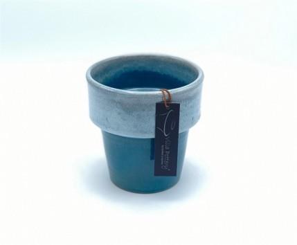 Toscane pot dark blue