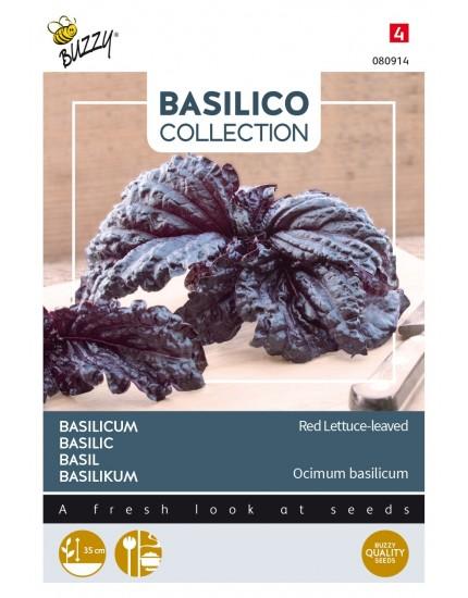 Basilicum Rode slabladige