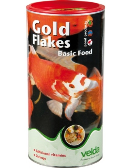 Gold Flakes Basic Food