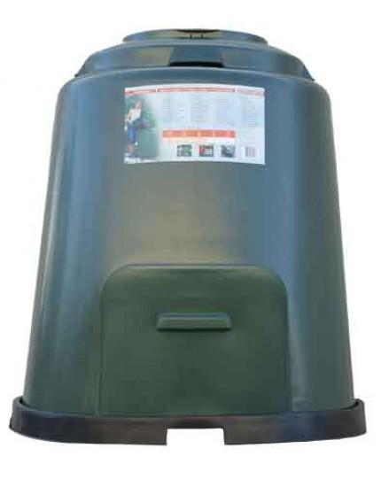 Compostvat met beluchting