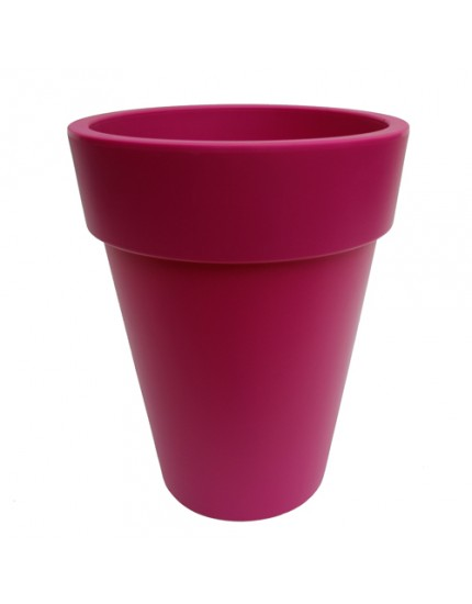 Elho Pure Round High Fuchsia