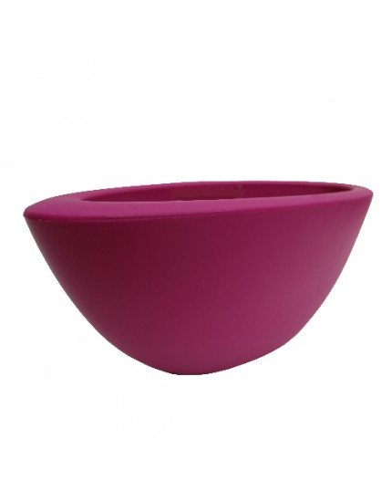 Elho Pure Soft Oval fuchsia