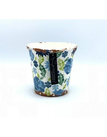 Flowergarden Blue/Green bloempot