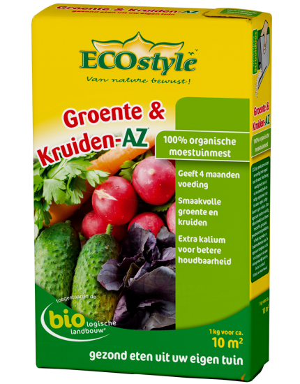 Groente & Kruiden-AZ 1kg