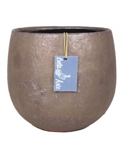 Jemen brons bloempot