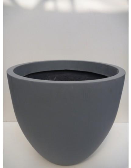 Fiberstone planter grijs