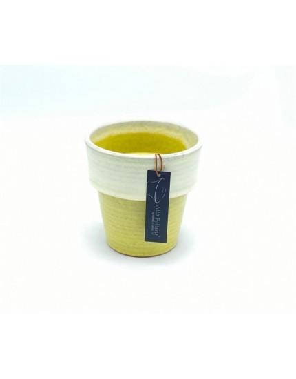 Toscane pot yellow