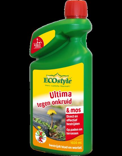 Ultima tegen Onkruid & Mos concentraat 1020 ml