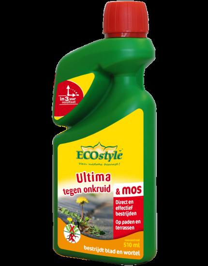 Ultima tegen onkruid & mos concentraat 510 ml