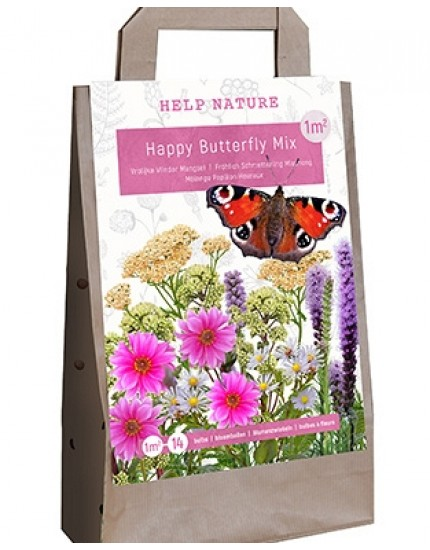 Tas Happy Butterfly mix